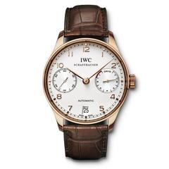 万国(IWC)-葡萄牙系列 机械男表IW500113 全球联保