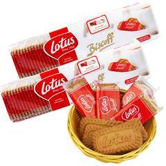 包邮 比利时进口和情焦糖饼干312.5g*2包 每包50片进口休闲零食品