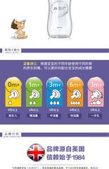 AVENT/新安怡 自然原生宽口径玻璃奶瓶