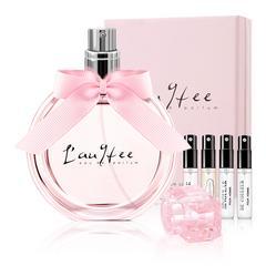 精美礼盒亚菲儿女士香水女士持久淡香清新50ml香水女法国专柜正品女人味送香水小样