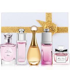 Dior/迪奥香水五件套装 真我甜心魅惑茉莉女士永恒的爱礼盒版5Q版