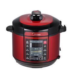 美的(Midea)MY-QC50A5 电压力锅 双胆5L智能家用电高压锅饭煲