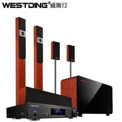 【演示商品】WESTDING/威斯汀 H4家庭影院5.1音响套装木质音箱光钎同轴功放机