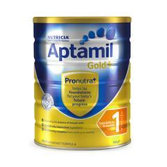 爱他美Aptamil 婴幼儿奶粉1段(0-6个月)900g 新西兰本土版原装进口