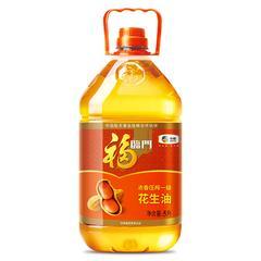 福临门浓香压榨一级花生油5L