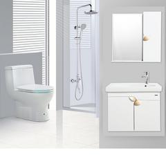 箭牌卫浴套餐浴室柜组合马桶花洒浴室柜套装实木卫浴柜浴室洗漱台