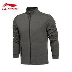 李宁男装2016秋季新款运动开衫卫衣外套棒球服男运动服装AWDL435AB2W1