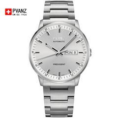 瑞士宝梵哲(PVANZ)品牌手表男士机械表全自动商务防水原装进口手表 P1A6D1