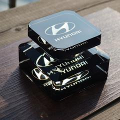 汽车香水座 创意车标水晶车载摆件饰品 汽车香水 水晶制品礼品