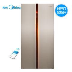 【演示商品】Midea/美的 BCD-535WKZM(E)对开门电冰箱双开门冰箱智能风冷无霜