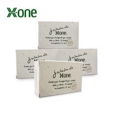 X-one洋甘菊手工皂舒缓敏感深层清洁补水保湿100g*4盒
