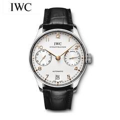 万国IWC葡萄牙七日链葡七自动械男表IW500114