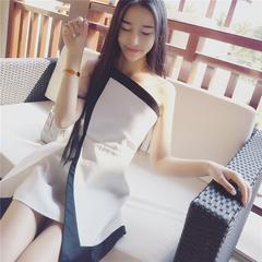 景亦 2016夏季新款韩版性感 抹胸露背修身包臀连衣裙短裙女小礼服