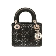 Dior/迪奥 17新款LADYDIOR菱格纹女士手提包
