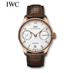 万国IWC葡萄牙七日链葡七自动械男表IW500113
