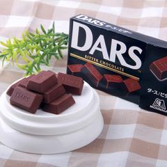 森永 日本DARS黑巧克力浓醇香滑日本进口5盒60颗