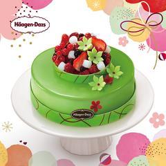 【演示商品】哈根达斯冬季新品 碧野仙踪600g蛋糕冰淇淋 电子券